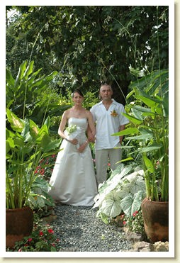 garden wedding Thailand