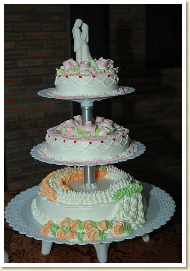 wedding cakes in thailand